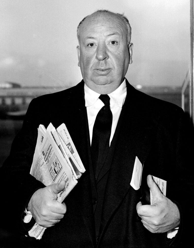 Alfred Hitchcock. Beeld anp