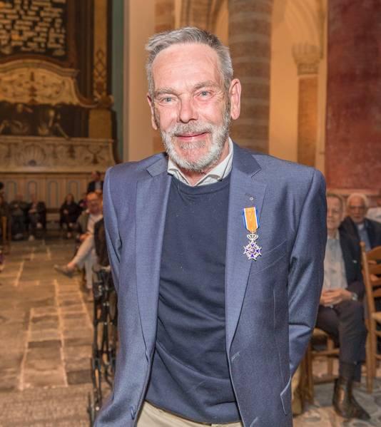 Piet Swarthof (Tholen), Lid in de Orde van Oranje-Nassau