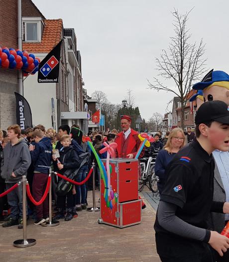 Waanzinnige drukte bij nieuwe Domino's in Nijmegen