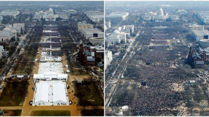 """""""Trump liet foto van zijn inauguratie bewerken"""""""
