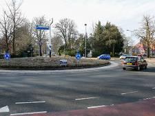 Rotonde in Hilversum gaat volledig op de schop en wordt veiliger