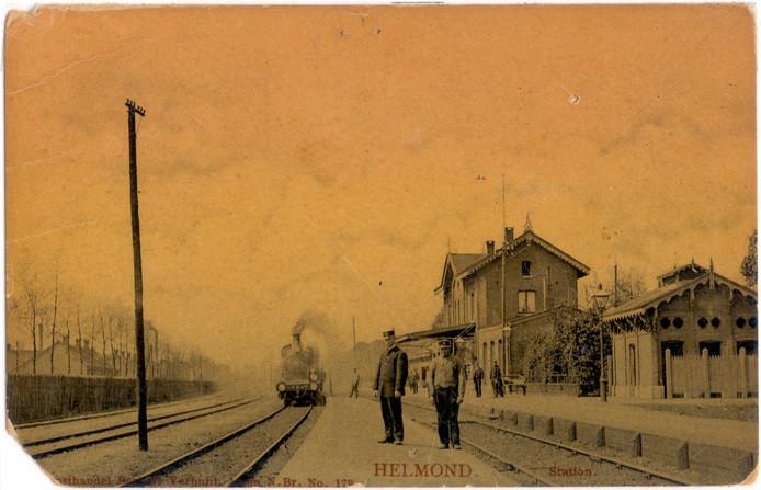 Het oude station in Helmond