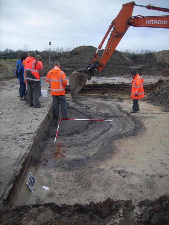 Bij opgravingen  in Lieshout werd een Romeinse waterput aangetroffen.
