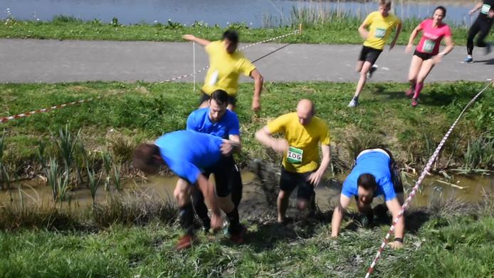 Het speeleiland in de Wadddinxveense wijk Park Triangel wordt voor veel evenementen gebruikt. Zo was er een Bouw en Bagger Run en is er aankomende zaterdag het festival Proef!.