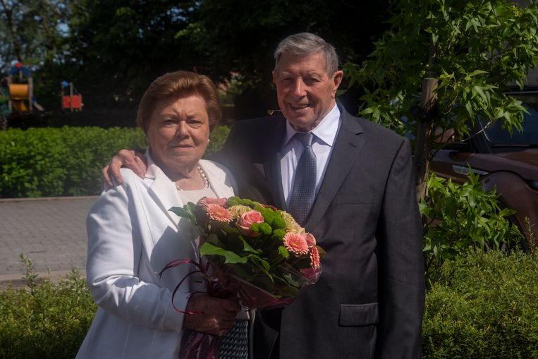 Julius en Adrienne zijn reeds 65 jaar gehuwd.
