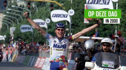"""Eerst de gracht in, daarna winnen voor de ogen van vader Eddy: 20 jaar geleden boekte Axel Merckx zijn """"mooiste zege ooit"""""""