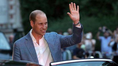 Prins William grapt over haaruitval