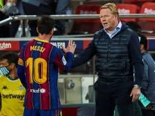 Messi sur le départ? La réponse de Koeman à Neymar