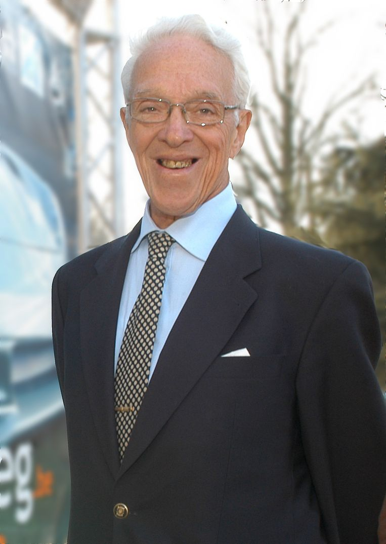 Oud-burgemeester en industrieel Lieven Santens.