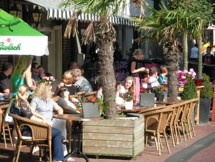 Ook deze zomer langer genieten op de terrasjes in Rijssen en Holten en het hoeft niet minimaal 25 graden te zijn.