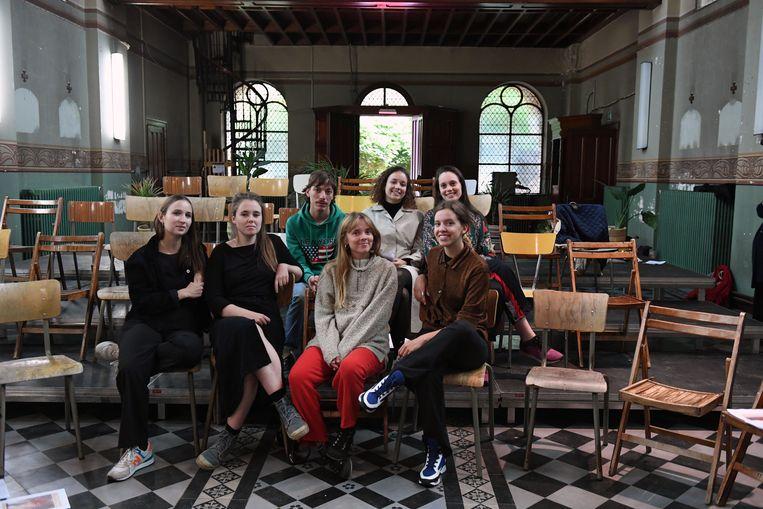 Bar Bleu speelt een belangrijke rol in festival 'In de maak'. Het oude klooster van de Broeders van Liefde in de Brusselsestraat is een toplocatie.