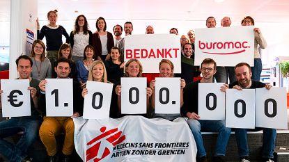 Buromac en Tadaaz verzamelen 1 miljoen voor Artsen Zonder Grenzen