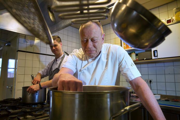 Chef de cuisine Hans den Engelsen.