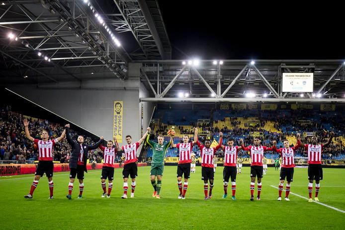 PSV kan bogen op een uitstekende serie in Arnhem bij Vitesse, met vier zeges op rij.