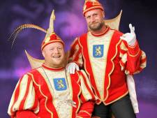 Prins Edwin II en Adjudant Robby 57e prinsenpaar Knunnekes in Groenlo