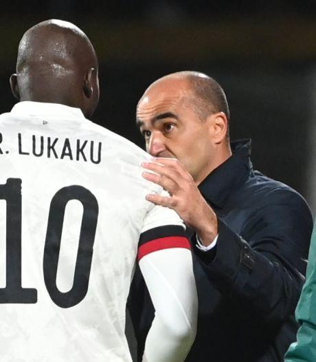 """Roberto Martinez: """"Pour moi, Romelu Lukaku est le meilleur attaquant du monde"""""""