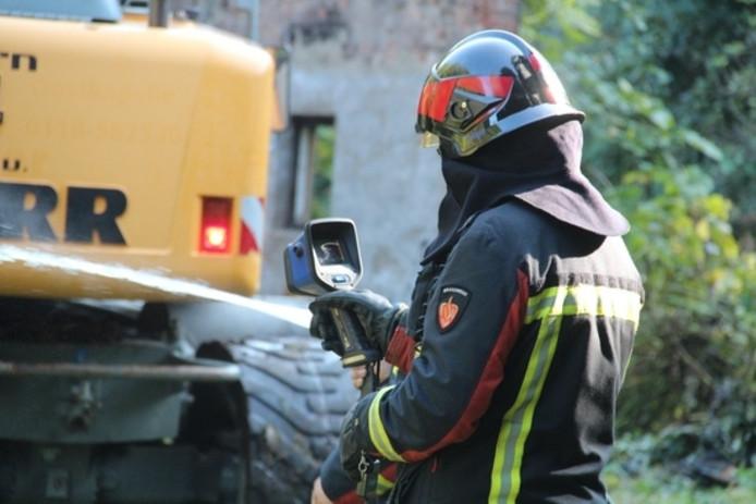 De brandweer van Koudekerke en de waterwagen van Oost-Souburg kwamen ter plaatse.