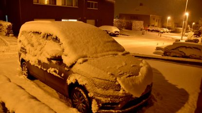 LIVE. Opnieuw sneeuw in het land: oppassen voor gladde wegen, code geel tot zeker 14 uur vanmiddag