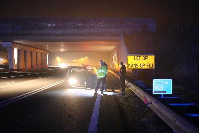 Ongeval op N261 in Loon op Zand.