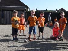 Telraam kleurt Oeffelt oranje  tijdens de Koningsspelen