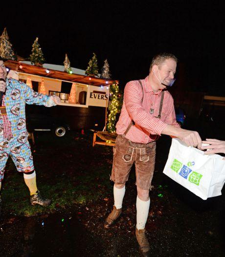 Stamppot moos met Wildschwein via een drive-in in Haaksbergen: 'Maken er een mooi feestje van'