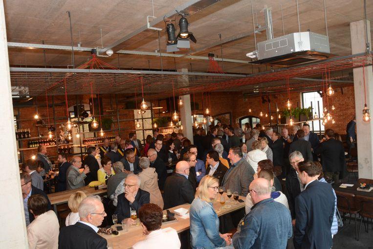 Het brouwerijcafé zal in juni voor het grote publiek toegankelijk zijn.