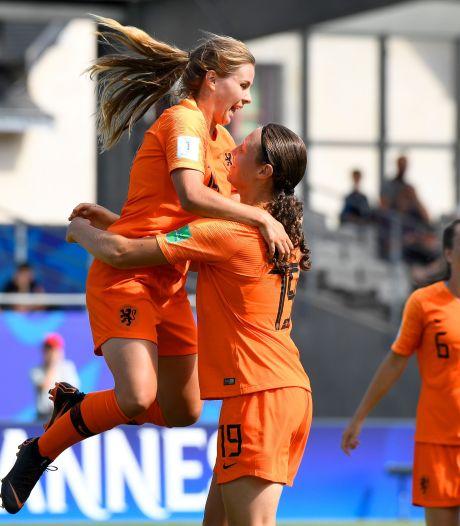 Oranjevrouwen onder 20 met Bredase Caitlin Dijkstra op drempel van kwartfinale WK