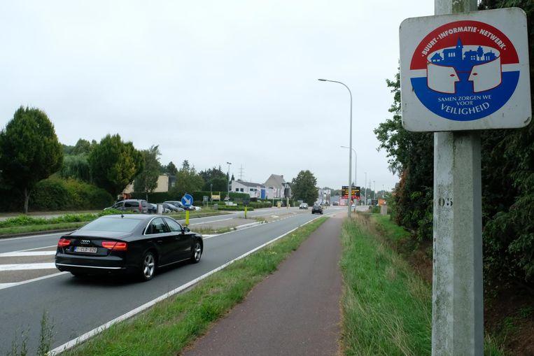 Een bord geeft aan dat in deze buurt een BIN actief is. Heel wat partijen willen daar de komende jaren extra op inzetten.