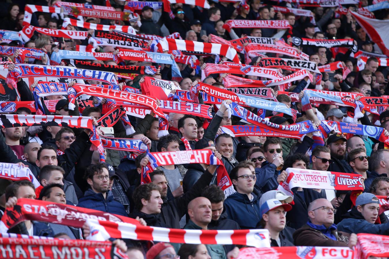 FC Utrecht-supporters.