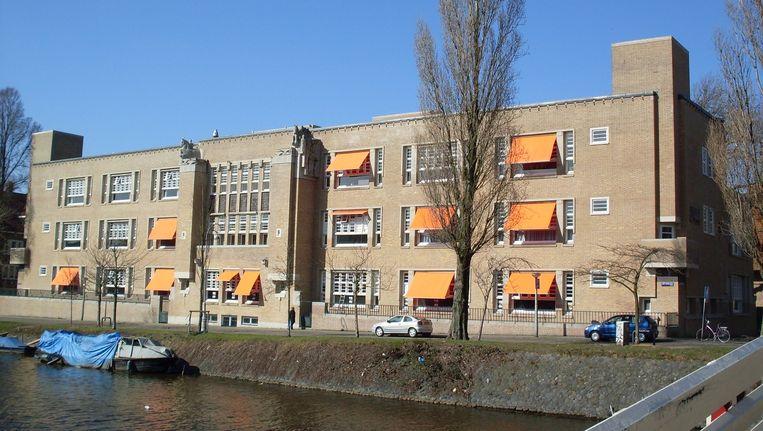 Het Berlage Lyceum in Amsterdam. Beeld Wikimedia Commons