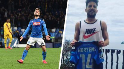 De klasse van 'Ciro': Dries Mertens veilt recordtruitje waar voetbalmusea fortuin voor zouden neertellen om goed doel te steunen
