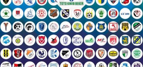 Programma eerste ronde KNVB-beker