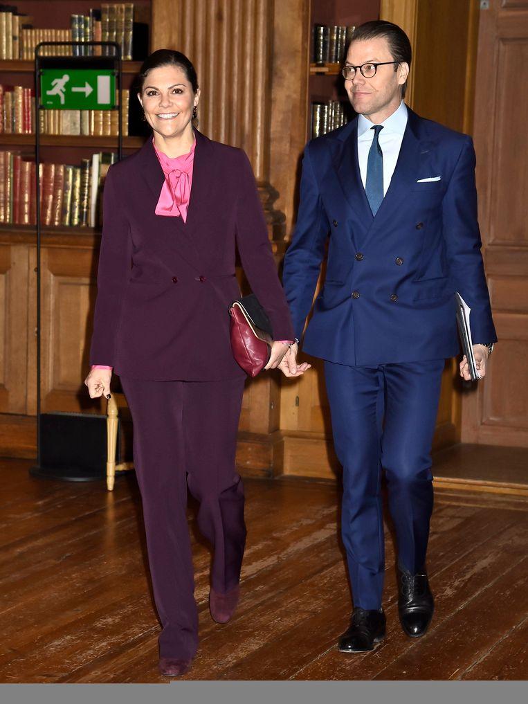 Kroonprinses Victoria met prins Daniel