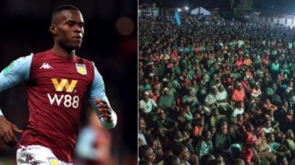 Wat gaat dat zijn bij z'n eerste goal? Miljoenen Tanzanianen volgen debuut Samatta, nadien barst groot feest los