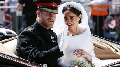 Prins Harry bedankte Meghans make-upartiest uitgebreid na huwelijk