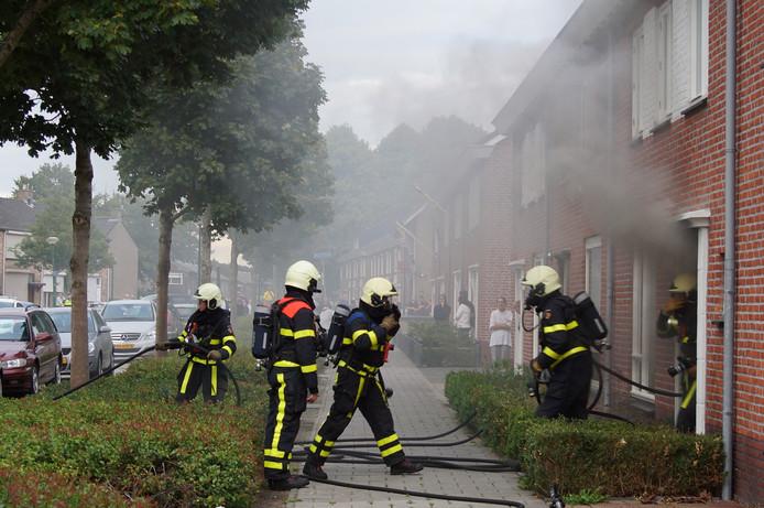Brand in Kaatsheuvel