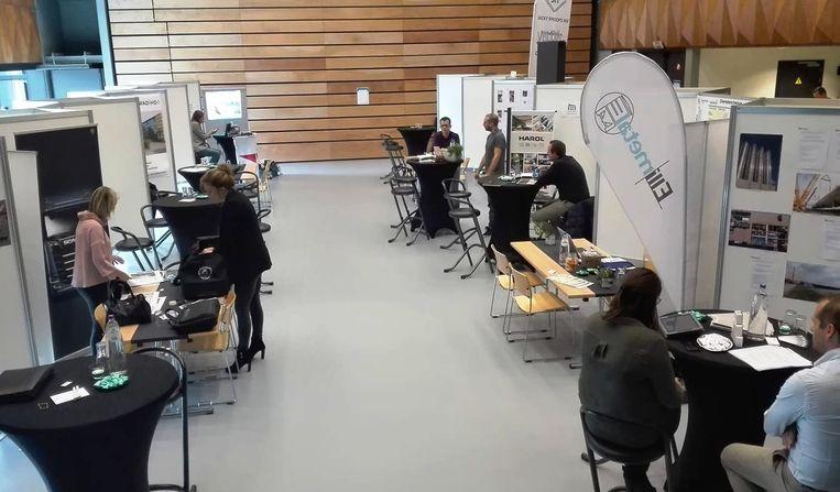 De deelnemende bedrijven zijn ook na de jobbeurs nog op zoek naar extra personeel