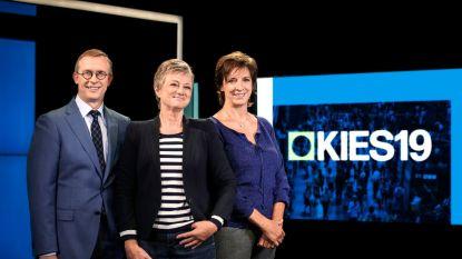Eén wint tv-kiesstrijd van VTM: 'Kies 19' scoort 743.000 kijkers, 'De Stem van Vlaanderen' 395.000 kijkers