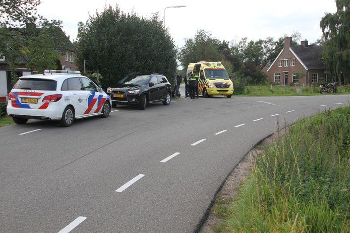 Het ongeval in Laren.