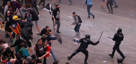 Tsunami van volkswoede na hoge celstraffen voor onafhankelijkheidsstrijders Catalonië