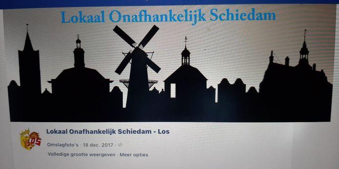 Het logo van Lokaal Onafhankelijk Schiedam
