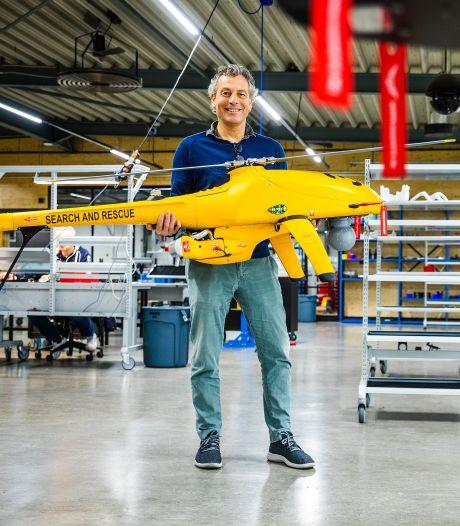 Onbemande helikopters uit Dordt gaan de wereld over: 'Maar ze mogen niet in handen komen van IS'