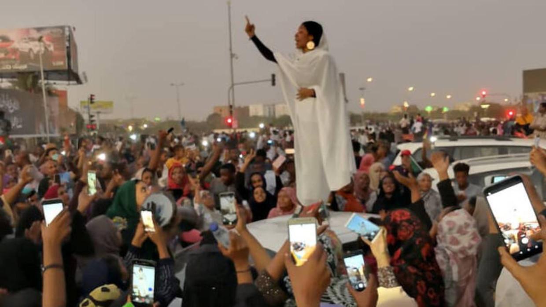'De Nubische koningin kan uitgroeien tot het icoon van Soedans opstand.'