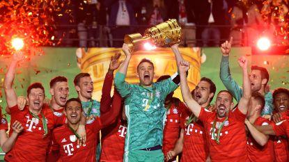 Football Talk. Bayern walst over Leipzig en pakt dubbel - Dries Mertens klokt af op 16 goals