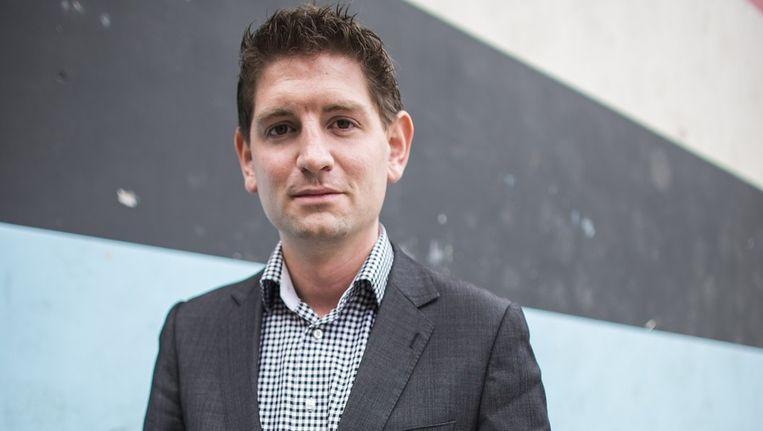 D66-lijsttrekker Jan Paternotte: 'De linkse kiezer kan met een gerust hart op ons stemmen' Beeld Rink Hof