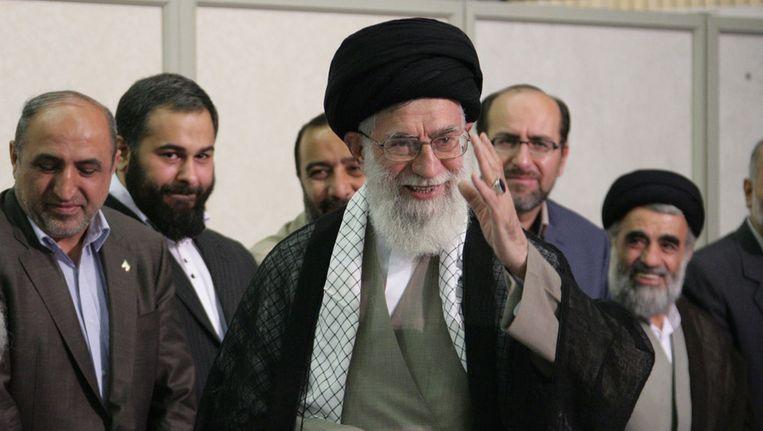 Ayatollah Ali Khamenei Beeld ANP