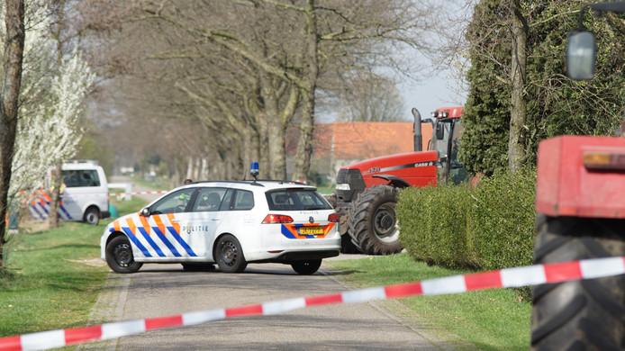 Scooterrijdster overlijdt bij ongeval Eibergen.