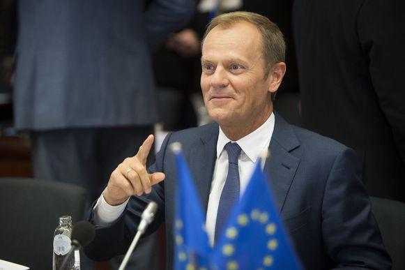 Donald Tusk is voorzitter van de Europese Raad.
