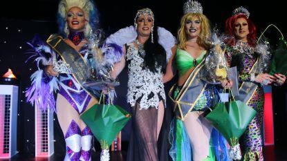Chantina Dee is eerste Oost-Vlaamse Miss Travestie