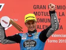 Zege en podium Spaanse jonkies bij Moto3